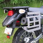 Kawasaki KLR 650 Slider Pannier Mount