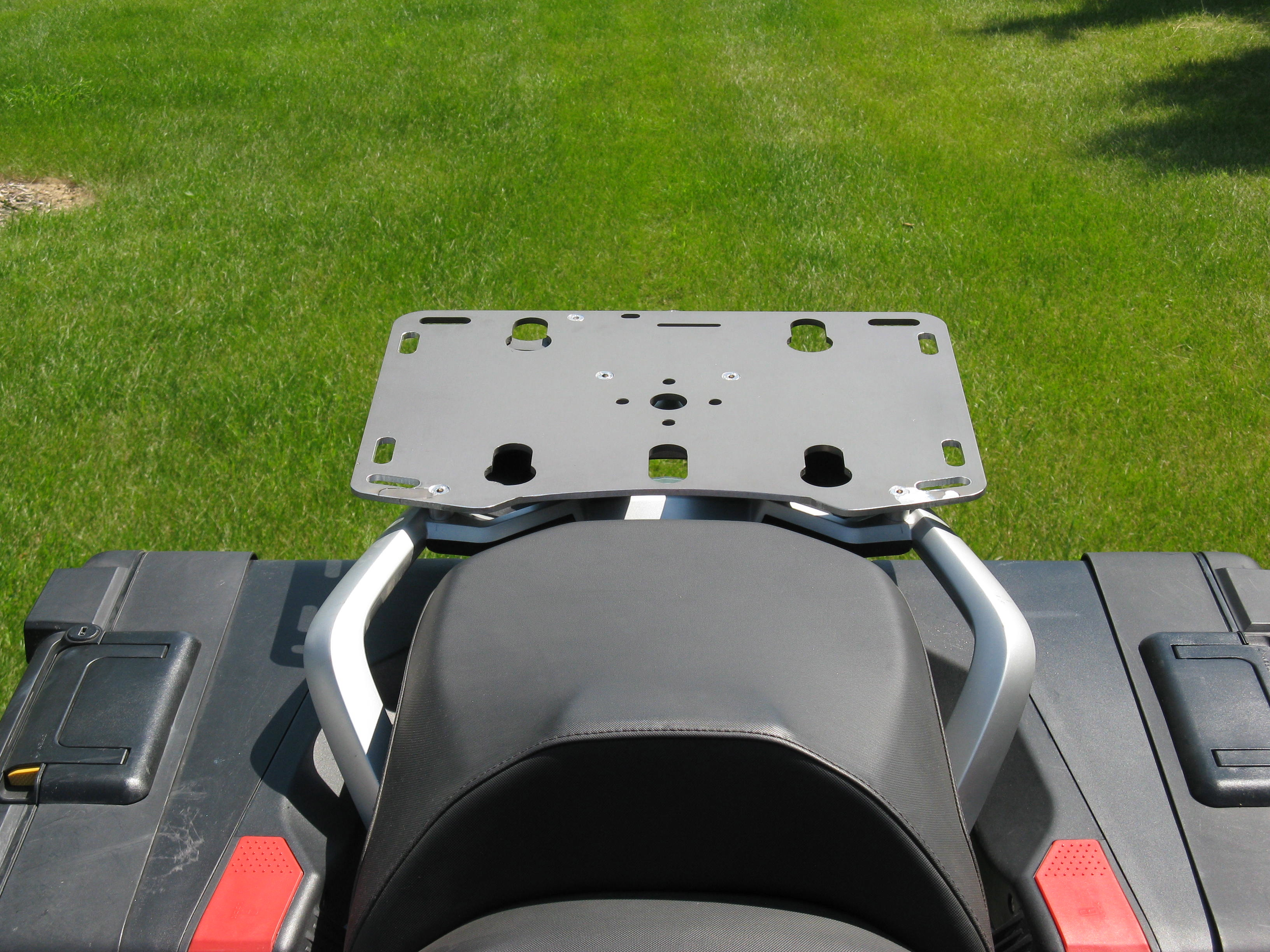 2013 Amp Up Bmw R1200 Gs Slider Rear Rack With Top Box Quick
